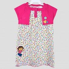 Платье NICKELODEON (Розовый/ Цветной горошек)