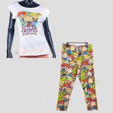 Комплект: футболка и штаны NICKELODEON STORE (Белый/ Rugrats)