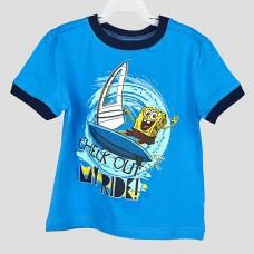 Комплект: футболка и шорты NICKELODEON (Голубой/ Синий/ SB)