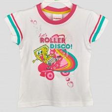 Комплект: футболка и шорты Nickelodeon Sponge Bob (Белый/Розовый)