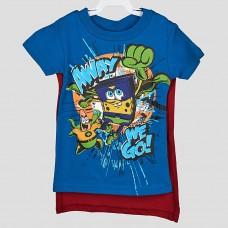 Комплект: футболка и шорты NICKELODEON SB (Синий/ Бордовый/ AWAY)