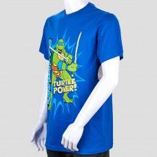 Футболка NICKELODEON (Синий/Turtle Power)