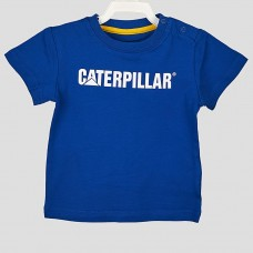 Футболка  CAT (Синий/CATERPILLAR/Белый)