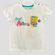 Комплект: футболка и юбка-шорты NICKELODEON (Белый/Мятный/SB)
