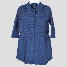 Платье Splendid (синий\полоска)