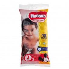 Подгузники Huggies Snug&Dry 3шт размер 3