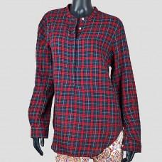 Рубашка с длинным рукавом TROVATA (Клетка/Красный/Зеленый/Синий)