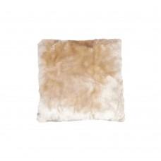 Подушка Mont Chalet мех/белый (70х70см)