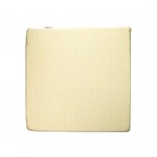 Подушка декоративная красно-бежевая (45х45см)