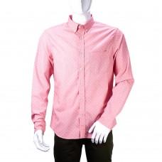 Рубашка Banana Republic (розовая\ромб)