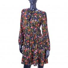 Платье BANANA REPUBLIC (чёрный\цветочный принт)