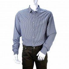 Рубашка BANANA REPUBLIC (клетка\синий\белый)