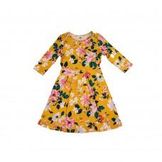 Платье OLD NAVY (желтый\цветы)