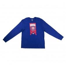 Футболка лонг-слив 47 UBS (синий)