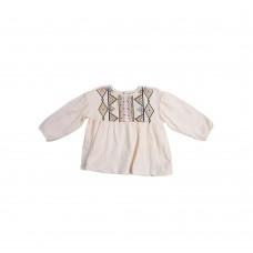 Блузка OLD NAVY (молочный\орнамент)
