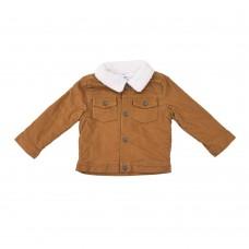 Вельветовая куртка Carter's (горчичный\белый)
