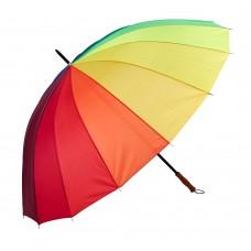 Зонт трость (радуга)