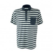 Футболка Rookery Polo BLUE WHITE