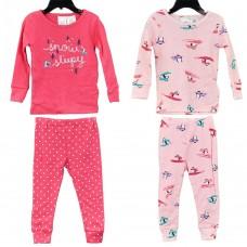Пижама Carter's  4 ед. (розовый\малиновый\пингвины)