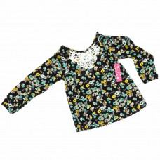 Блузка Fabkids Lace Overlay Blouse