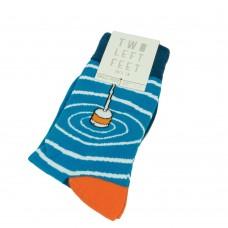 Носки Two Left Feet (цвет - полосатые) 42