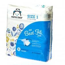 Подгузники детские mama bear (упаковка 54шт 4-6кг )
