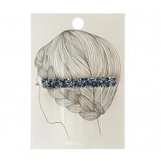 Заколка для волос(прямоугольник) голубой цвет