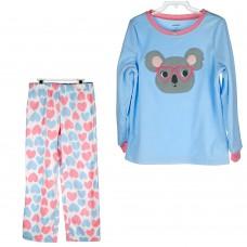 Пижама Carter's (голубой\полоска\сердце)