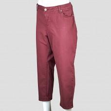 Джинсы SLINK jeans (бордовый)