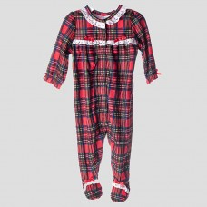 Пижама - комбинезон LITTLE ME (клетка)