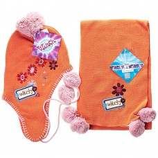 Детский набор шапка/шарф Witch (Оранжевый / 6/7 лет)