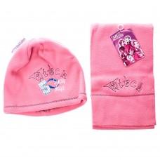 Детский набор шапка/шарф Simply Magic 5 Witch (Розовый/ 6/7 лет)