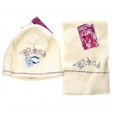 Детский набор шапка/шарф Simply Magic 5 Witch (Молочный/ 6/7 лет)