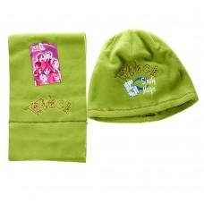 Детский набор шапка/шарф Simply Magic 5 Witch (Зеленый/ 6/7 лет)