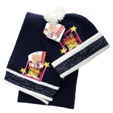 Детский набор шапка/шарф High School Musical (Синий / 3-4 года)
