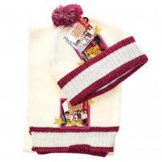 Детский набор шапка/шарф High School Musical (Молочный  / 3-4 года)