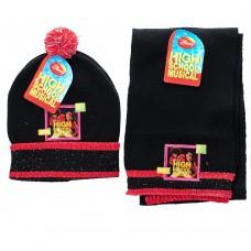 Детский набор шапка/шарф High School Musical (Черный  / 3-4 года)
